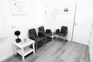 sala de espera centro sentido psicologia Manuel Becerra